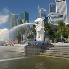 The Merlion by Aneurysm