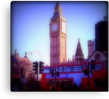 WestminsterIntersection Canvas Print
