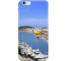 Ciutadella Harbour iPhone Case/Skin