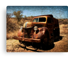 The Old Ford Truck ~ Ruby, Arizona Canvas Print