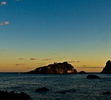 Isola Lachea at sunset by Andrea Rapisarda