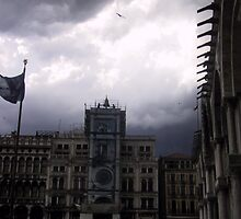 storm brewing in Venice by Willie Baronet