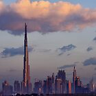 Dubai Sunrise by David Clark