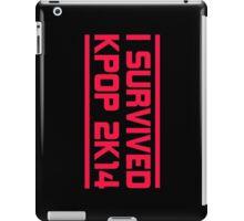 I SURVIVED KPOP 2K14 - BLACK iPad Case/Skin