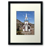 The Little Church Framed Print