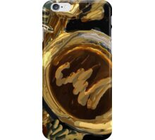 ABSTRACT SAXOPHONE iPhone Case/Skin