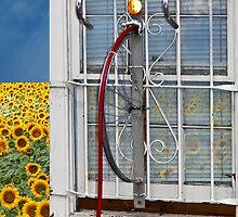 Bikers Need Fresh Air by Leta Davenport