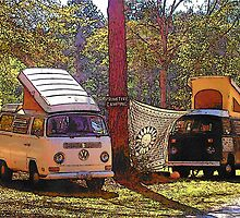 Primitive Camping by Bob Moore