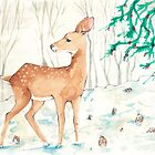 First Snow by FloralFawn