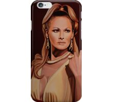 Ursula Andress painting iPhone Case/Skin