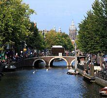 Summer In Amsterdam by aidan  moran