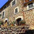 The House With Grey Shutters..........................Majorca by Fara