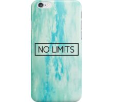 No Limits iPhone Case/Skin