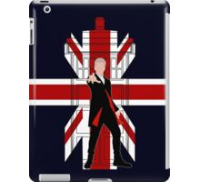 Union Jack British Flag with 12th Doctor iPad Case/Skin