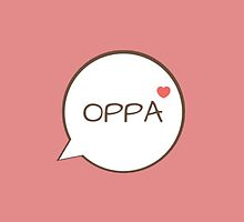OPPA - Pink by CynthiaAd