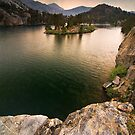 Long Lake, Eastern Sierras by Nolan Nitschke