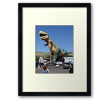 The Really Big T Framed Print