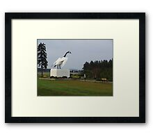 The Goose of Wawa Framed Print