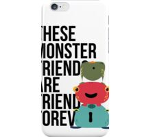 These Monster Friends iPhone Case/Skin