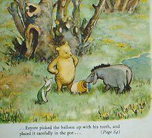 original Pooh Bear book by boondockMabel