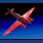 Red Aeroplane Model by Keith Richardson