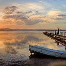 Long Jetty Sunset by Mike Salway