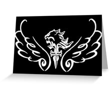Wings of Light Greeting Card