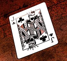 Jack of Clubs by David  T Anderson