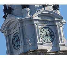What time is it in Philadelphia, PA USA? Photographic Print