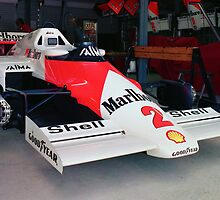 Prost's McLaren MP4 by Des Berwick