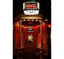 Coke Corner Photographic Print