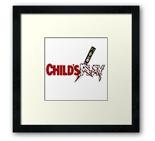 CHILD'S PLAY 1988 (SERIES 2) Framed Print