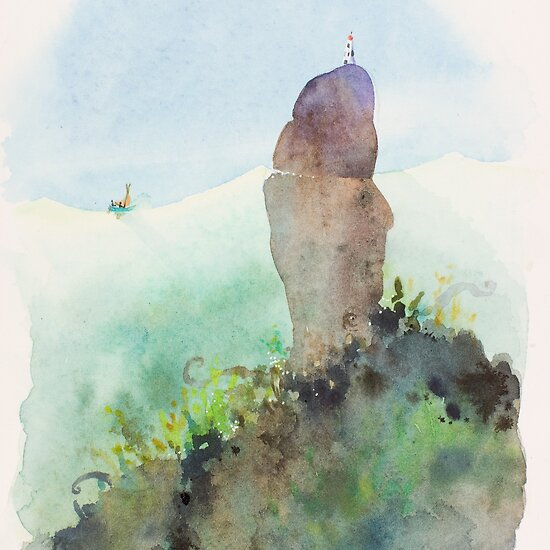 Calamari Rock by Roland Harvey