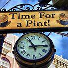 Pub Sign by Barbara  Brown