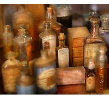 Cough Syrup Photographic Print