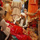 Jaipur Market by John Kardys