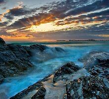 Waves Crash by Lance Jackson