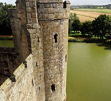 """UK: """"Bodiam Castle 10"""", East Sussex by Kelly Sutherland"""