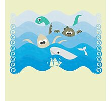 SEA OF MONSTERS Photographic Print
