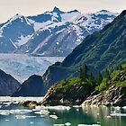 S. Sawyer Glacier by Mark Heller