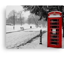 winter at crystal palace  Canvas Print
