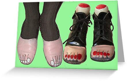 Goody Two Toe Shoes. Magritte by Woodie