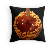 Want a Bite of My Apple??? Throw Pillow