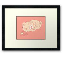 Tasty mushroom Framed Print