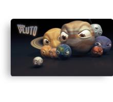 Poor Pluto Canvas Print