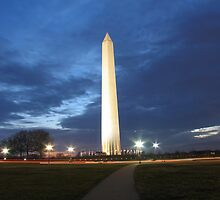 Washington Monument by brandonsorrell