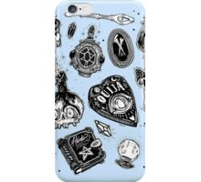 Witchy (pale blue limited version) iPhone Case/Skin