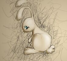 Sad Bunny by chloeswingewood