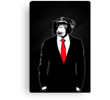 Domesticated Monkey Canvas Print