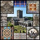 St Davids Cathedral Featuring The Ceilings Within by Yampimon